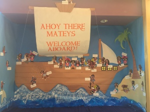To welcome back students, the Pacific Heights staff became a pirate crew. Be sure to take a peek at this years staff.