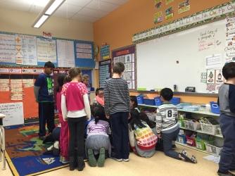 Inquiry day in grade 3.