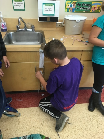 Div. 6 builds an obstacle course for a ping pong ball