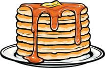 stack of delicious looking pancakes