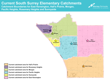 South Surrey Consultation 2019 - Current Boundaries
